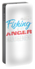 Fishing Is My Anger Management Spots Portable Battery Charger