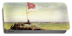 Flag Of Fort Sumter Portable Battery Charger