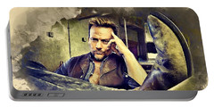 Flanery And His Cowboy Boot Portable Battery Charger