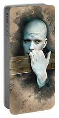Flanery As Powder Watercolor  Portable Battery Charger