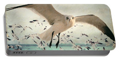 Flight Of The Gulls Portable Battery Charger
