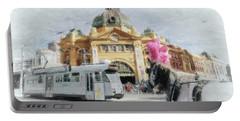 Flinders Street Station, Melbourne Portable Battery Charger