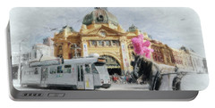 Flinders Street Station, Melbourne Portable Battery Charger