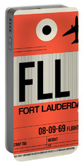 Fll Fort Lauderdale Luggage Tag I Portable Battery Charger