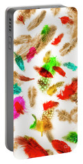 Floating In Colourful Abstract Portable Battery Charger