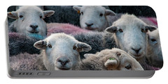 Flock Of Herdwicks Portable Battery Charger