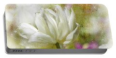 Floral Dust Portable Battery Charger