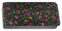 Floral Interpretation - Weedflowers Portable Battery Charger