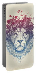 Floral Lion IIi Portable Battery Charger