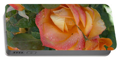 Portable Battery Charger featuring the photograph Floral Melody #2 by Ahma's Garden