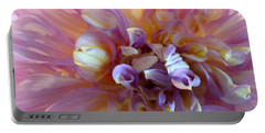 Portable Battery Charger featuring the photograph Floral Melody #3 by Ahma's Garden
