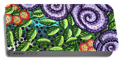 Floral Whimsy 11 Portable Battery Charger