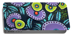 Floral Whimsy 12 Portable Battery Charger