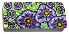 Floral Whimsy 4 Portable Battery Charger