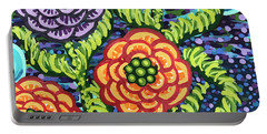 Floral Whimsy 5 Portable Battery Charger
