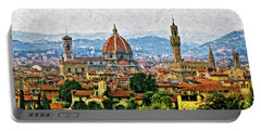 Florence Impasto Portable Battery Charger