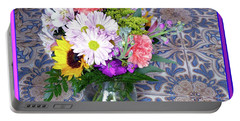 Flower Bouquet  Portable Battery Charger