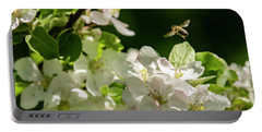 Flower Hopping Portable Battery Charger