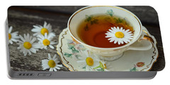 Flower Tea Portable Battery Charger