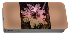 Flower With Tentacles Portable Battery Charger