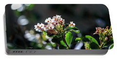 Beautiful Blooms Portable Battery Charger