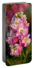 Flowers In The City Park Portable Battery Charger