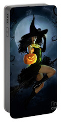 Fly By Night Halloween Portable Battery Charger