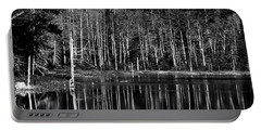 Portable Battery Charger featuring the photograph Fly Pond Reflection by David Patterson
