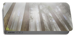 Fog In The Redwoods Portable Battery Charger