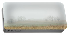 Foggy Country Morning Portable Battery Charger