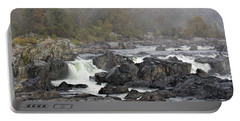 Foggy Great Falls Portable Battery Charger
