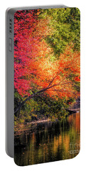 Foliage Over Forge Pond Portable Battery Charger