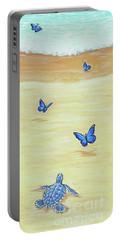 Follow The Butterflies Portable Battery Charger