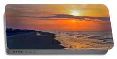 Folly Beach Sunrise Portable Battery Charger