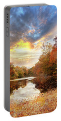 For The Love Of Autumn Portable Battery Charger