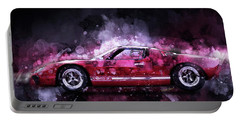 Ford Gt 40 Night Moves Portable Battery Charger