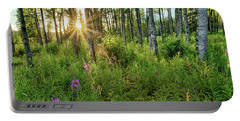 Forest Growth Alaska Portable Battery Charger