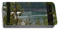 Forest Lake In Amendoa Portable Battery Charger