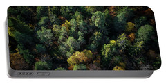 Forest Landscape - Aerial Photography Portable Battery Charger