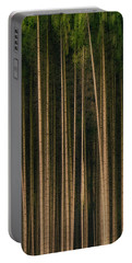 Portable Battery Charger featuring the photograph Forest Of Darkness by Edmund Nagele