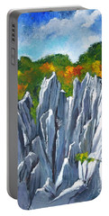 Forest Of Stones Portable Battery Charger
