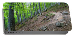 Forest On Balkan Mountain, Bulgaria Portable Battery Charger
