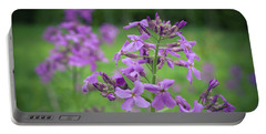 Forest Wild Flowers 2 Portable Battery Charger