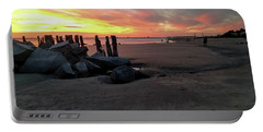 Fort Moultrie Sunset Portable Battery Charger