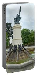 Fountain Of The Fallen Angel - Retiro Park, Madrid, Spain Portable Battery Charger