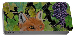 Fox And Grapes Portable Battery Charger