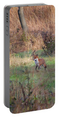 Fox In The Wild Portable Battery Charger