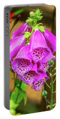 Foxgloves Portable Battery Charger