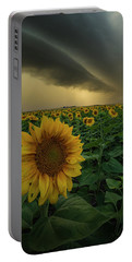 Portable Battery Charger featuring the photograph Frailty  by Aaron J Groen