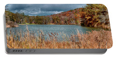 Framed Lake Portable Battery Charger